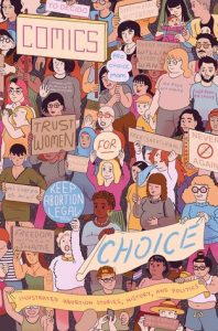 The cover of Comics for Choice